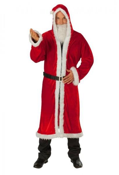 Velvet Santa Claus coat