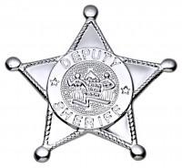 Western Stern Deputy Sheriff Silber