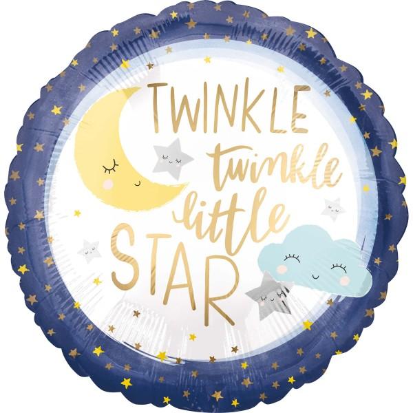 Ballon aluminium Twinkle Little Star 45cm