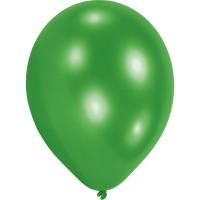 10 Grüne Ballons Partyflash 23cm