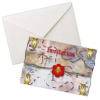 8 Sebastian Säbel Piraten Einladungskarten