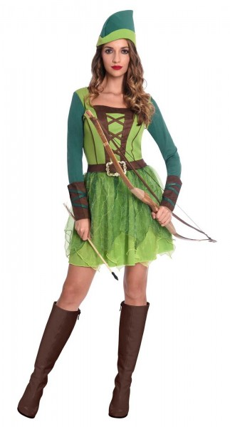 Forest warrior Robina ladies costume