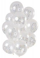 12 Latexballons Party Origami