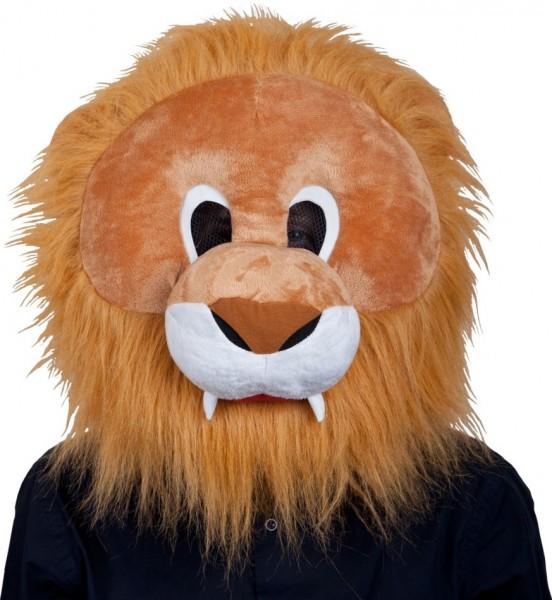 XL Löwen Maskottchen Maske