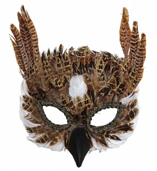 Masque de hibou forestier