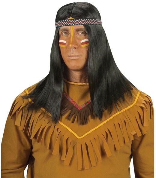 Madukwe Indianer Perücke Mit Stirnband