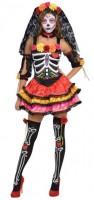 Senorita Flora Tag der Toten Kostüm