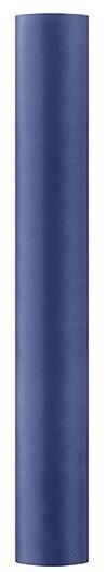 Satin Stoff Eloise dunkelblau 9m x 36cm 3
