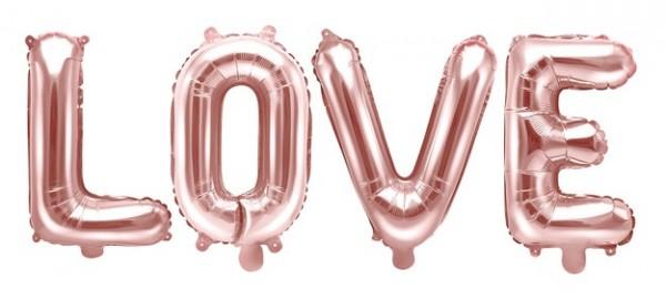 Love Letter Folienballon 1,4m x 35cm