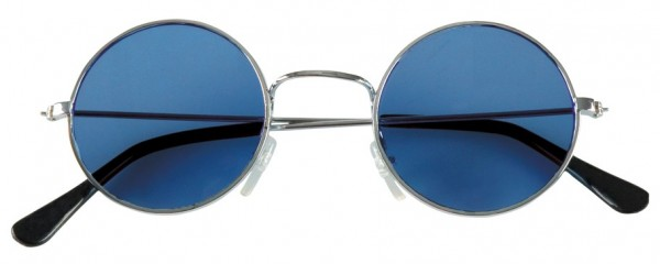 Occhiali hippie blu John Lennon