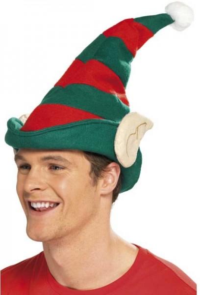 Chapeau elfique rayé