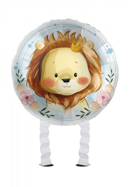 Palloncino foil Mini Lion Airwalker 43cm