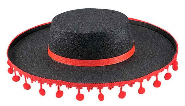 Chapeau Sombrero Noir Miguel