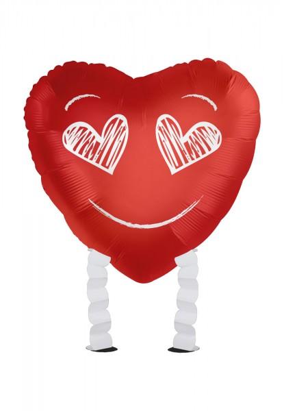 Favorite man Airwalker foil balloon red 43cm