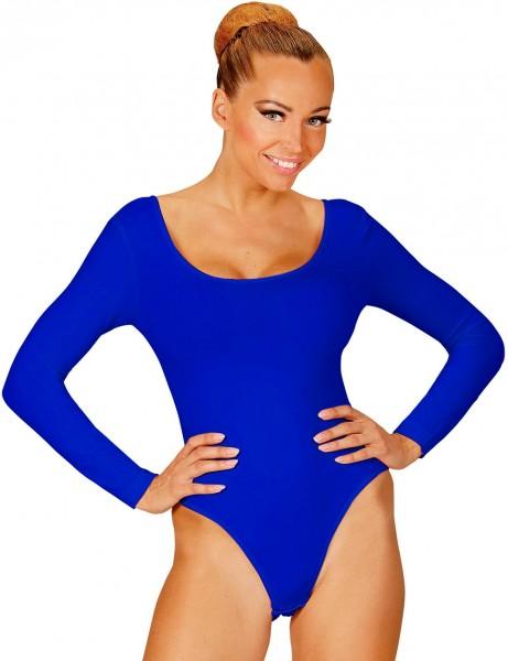 Body de mujer azul