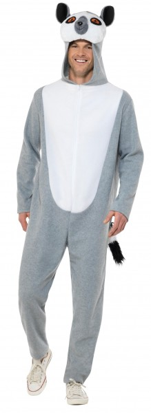 Costume en peluche lémurien Julian unisexe