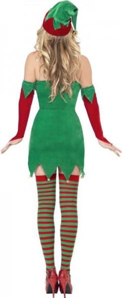 Disfraz de ayudante de Navidad sexy para mujer