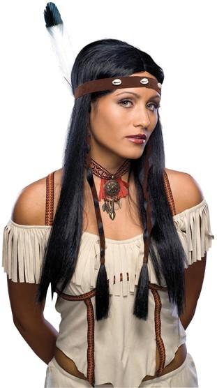 Indianerin Alaska Perücke