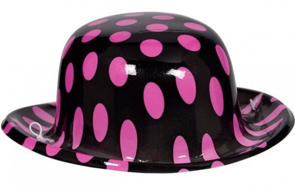 50er Jahre Mini Pünktchen Hut