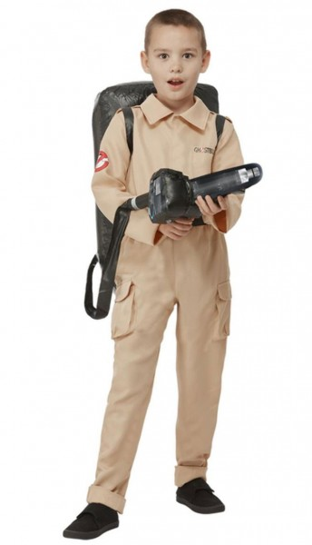 Ghostbusters child costume with backpack