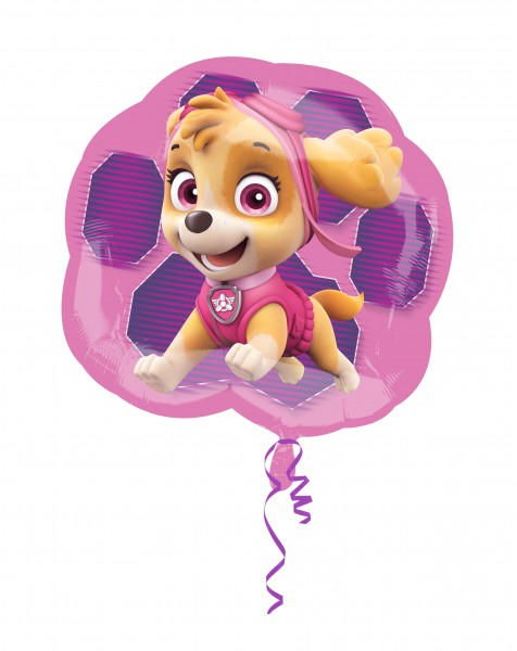 XL Paw Patrol Girls foil balloon