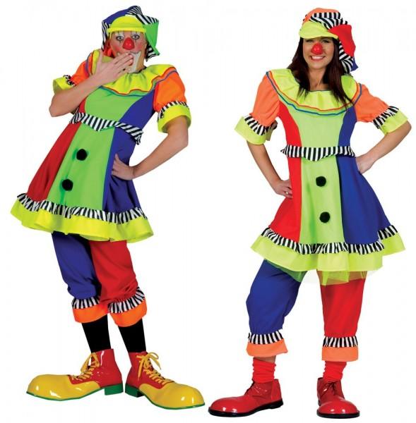 Zirkus Clown Pippa Damenkostüm