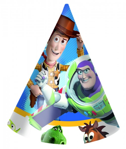 Toy Story Power party hats set of 6