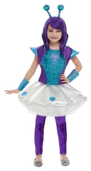 Alien Mädchen Kostüm