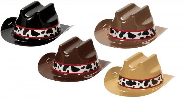 8 Mini Cowboyhüte