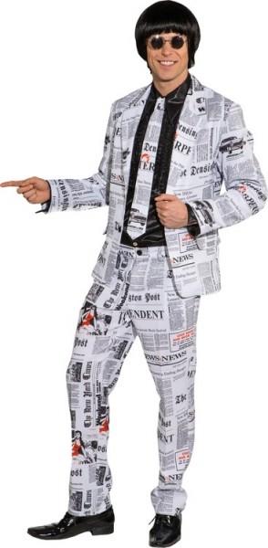 Zeitungsjournalist Herren-Anzug 1