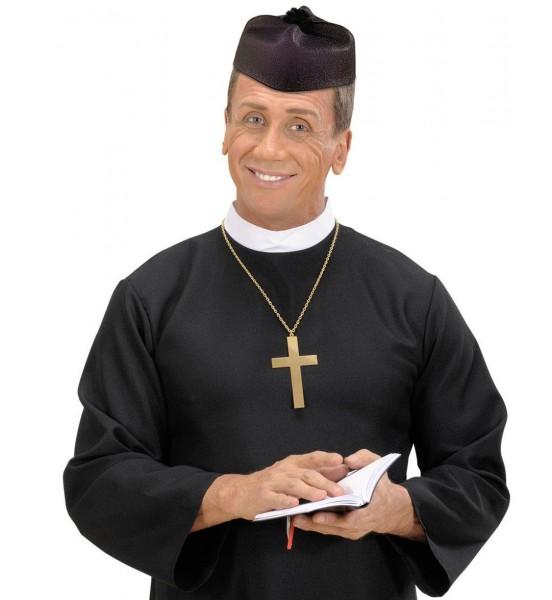 Schwarzer Pfarrer Hut