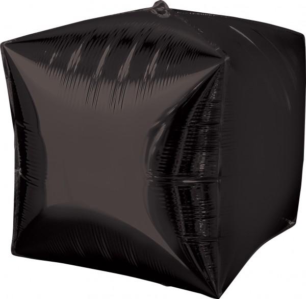 Würfelballon schwarz