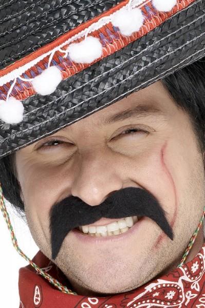 Bandit mustache black