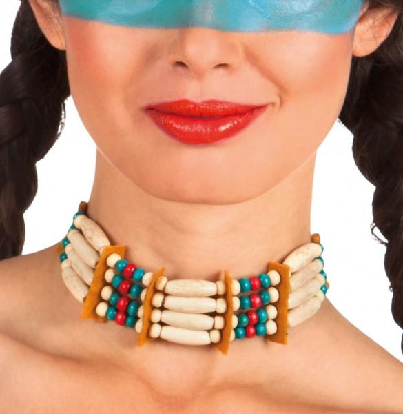 Klassische Indianer Halskette