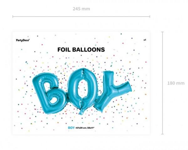 Palloncino foil per neonato 67 x 29 cm