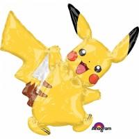 Folienballon Pokémon Fröhlicher Pikachu