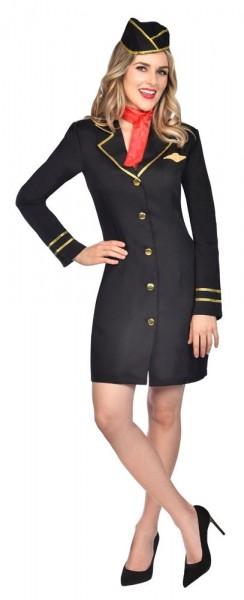 Sally Stewardess Costume Ladies