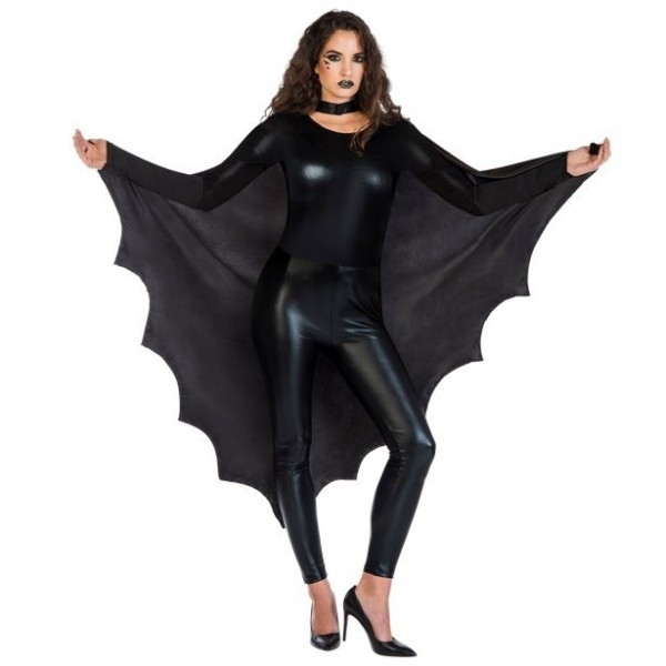 Fledermaus Flügel Umhang für Erwachsene