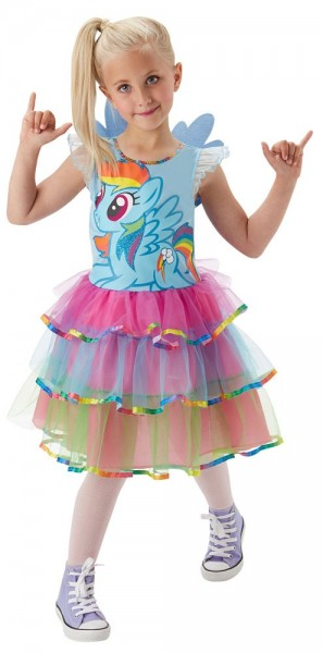 Buntes My Little Pony Kinderkostüm