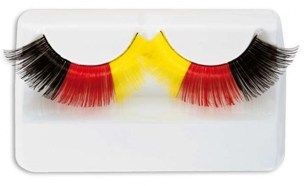 Deutschland Fan Wimpern