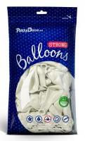 10 Partystar Luftballons weiß 27cm