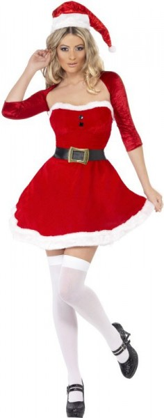 Costume Lady Babbo Natale