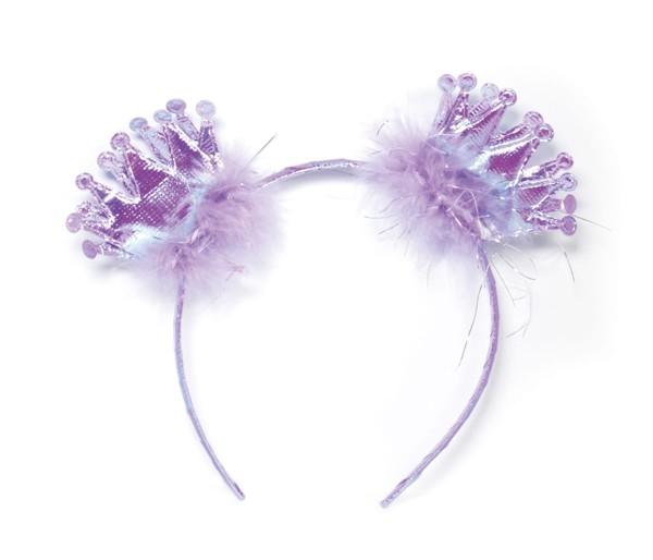 Krönchen-Prinzessin Haarreif in Violett