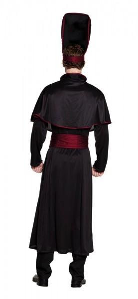 Costume da uomo Sacerdote da gobba