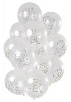 1. Geburtstag 12 Latexballons Origami