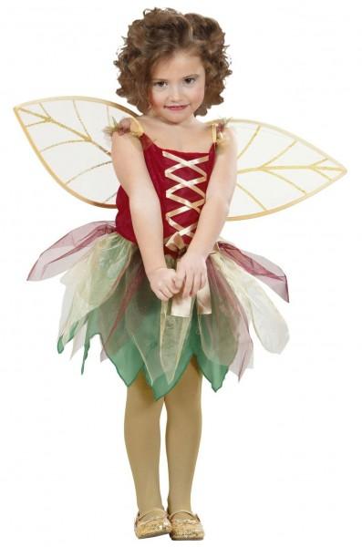 Disfraz infantil de hada del bosque