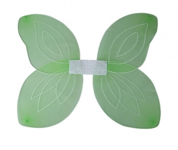 Magical elven wings green