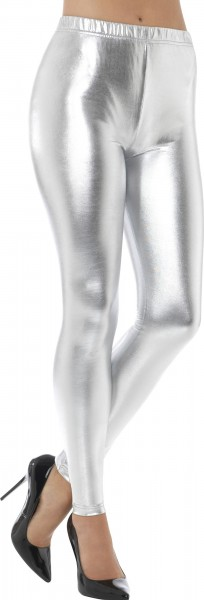 Silver Dancer Metallic Leggins