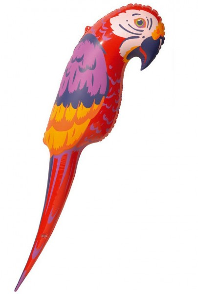 Inflatable party parrot 110 cm