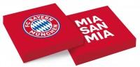 20 FC Bayern München Servietten 33cm